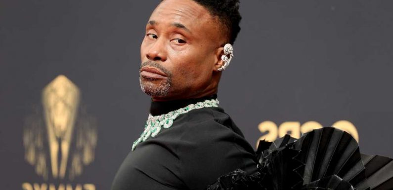 Billy Porter wears wings on Emmys 2021 red carpet: I am the fairy godmother