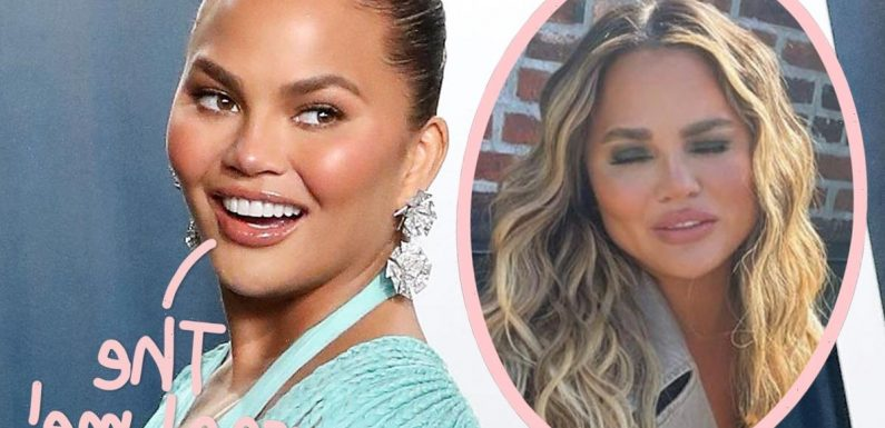 Chrissy Teigen Proudly Displays Being 'A Mess' & 'Chaotic' For Instagram Fans!