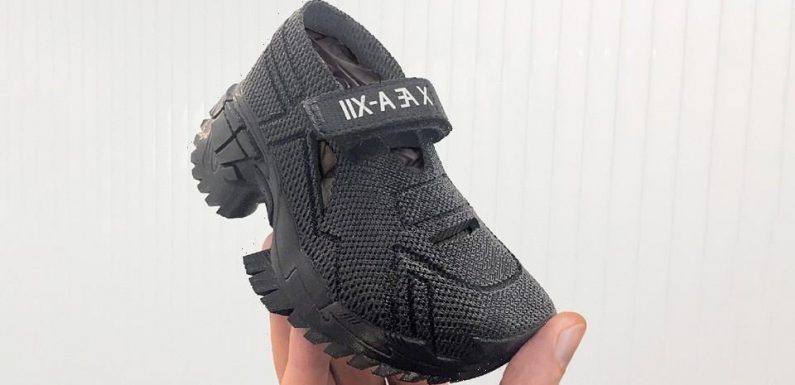 Elon Musk and Grimes Custom Order Up Sustainable 3D-Printed Sandals for X Æ A-XII