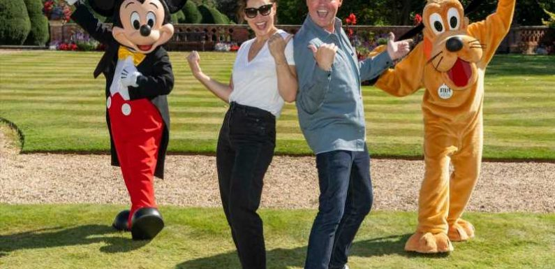 Emma Willis and Stephen Mulhern help Make-A-Wish host 150 families who had their Disney wish cancelled by the pandemic