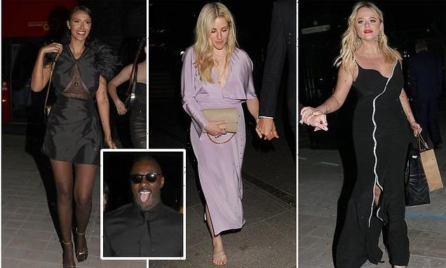 Giddy stars leave the GQ Awards