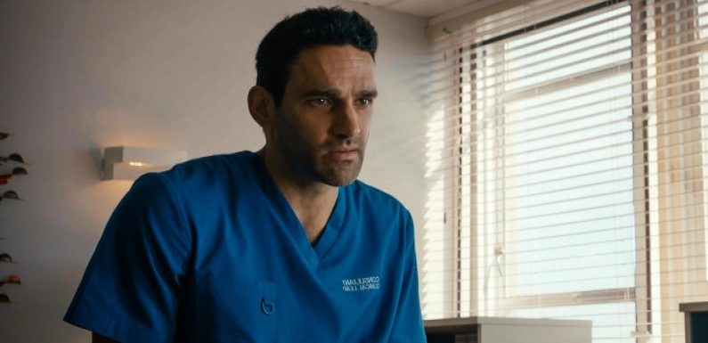 Holby City spoilers: Lucky's life hangs in the balance and Eli left shaken by dramatic collapse