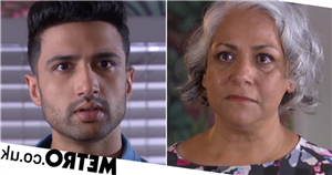 Hollyoaks' Misbah comes clean and tells Shaq she's his mum: 'I am your mother!'