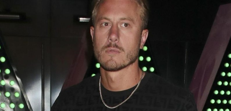 Katie Price's ex Kris Boyson looks downcast after she pleads guilty to drink-driving