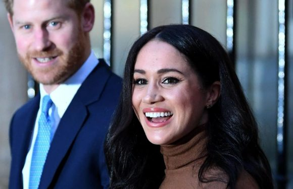 Meghan Markle wears stunning caramel-colored coat as she joins Prince Harry at UN meeting