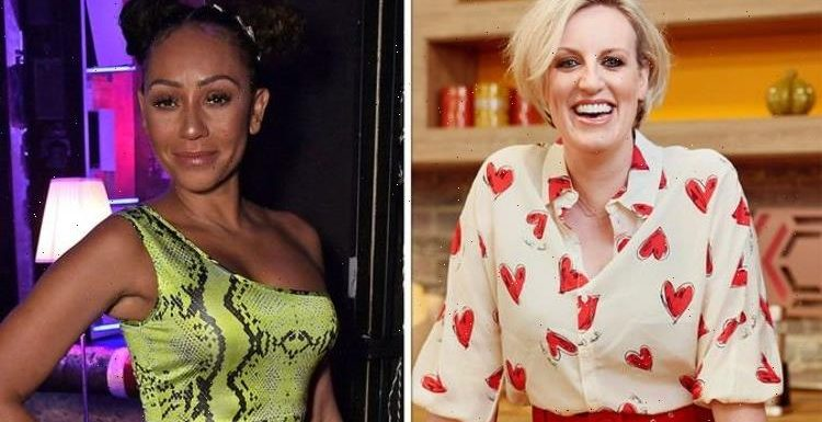 Mel B taking over Stephs Packed Lunch for special Channel 4 episode