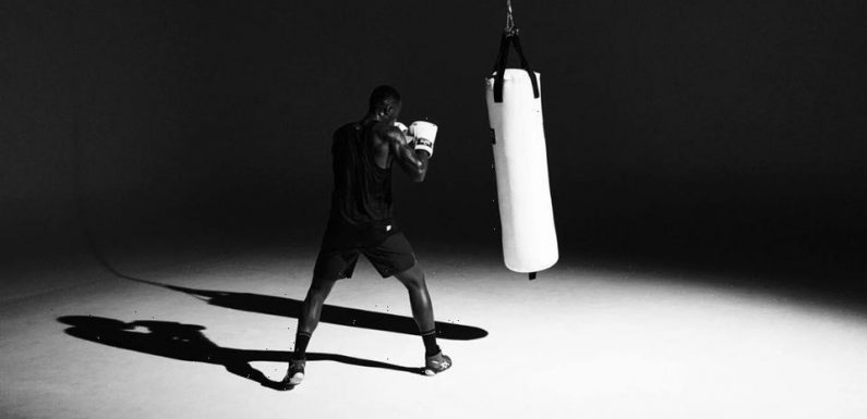 Reigning Champ Taps Everlast For a Limited-Edition White-Out Capsule
