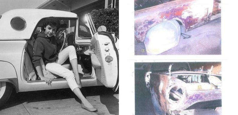 Someone bought Annette Funicello's 1957 Ford Thunderbird and didn't even know it