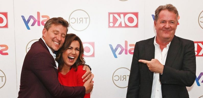 TRIC Awards winners – Piers Morgan nabs best presenter while GMB also takes gong