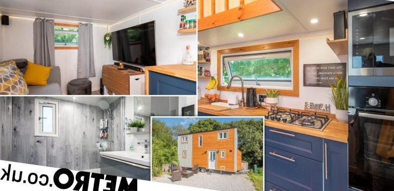 Take a look inside this tiny home on wheels – that costs just £50,000