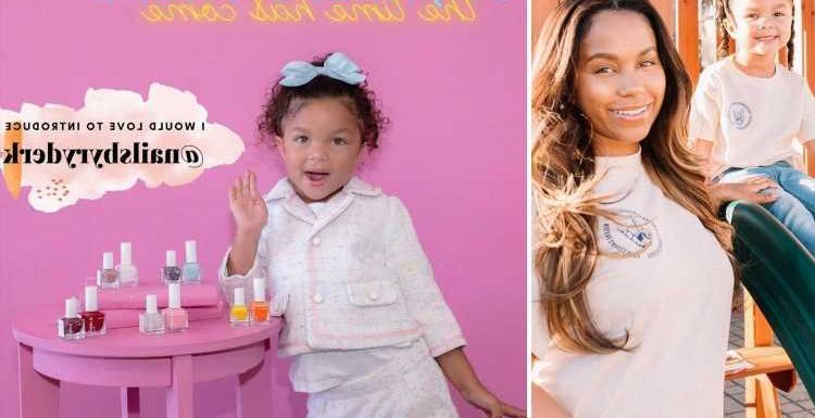 Teen Mom Cheyenne Floyd slammed for claiming daughter Ryder, 4, launched her own nail polish company without help
