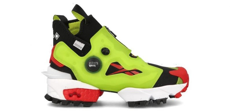 The Reebok Instapump Fury Becomes a GORE-TEX-Lined Boot
