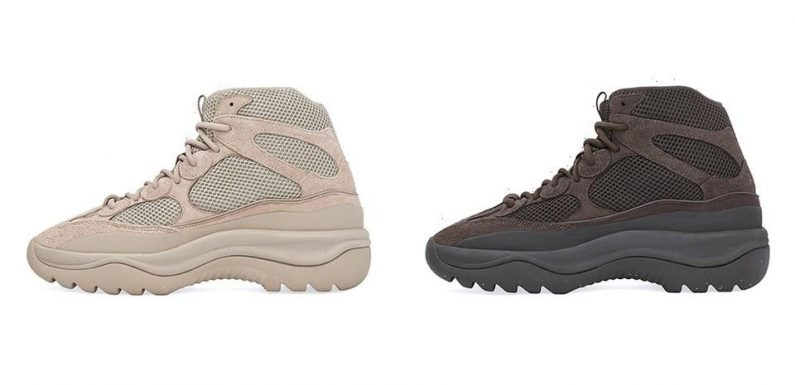 """The YEEZY DSRT BT Is Restocking in """"Oil"""" and """"Rock,"""" Again"""