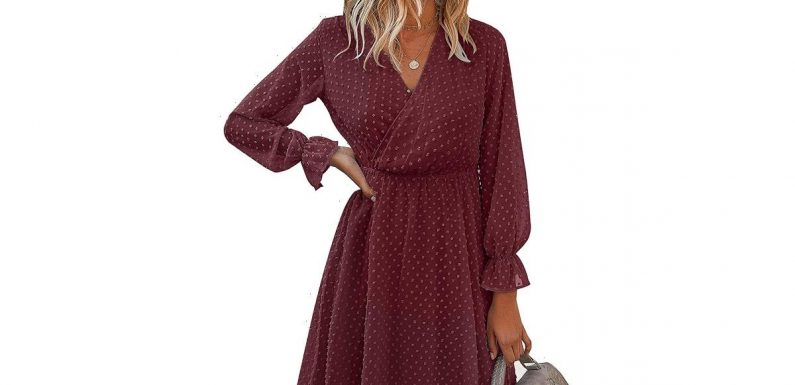 This Ruffle Dress Will Have You Pushing Your Sweats Aside
