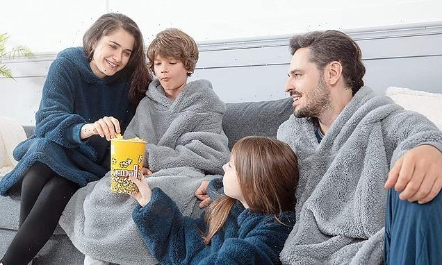 This blanket hoodie is the cosiest thing you can buy on Amazon