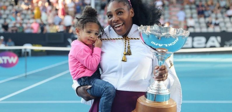 Watch Serena Williams Get a Sweet Piano Lesson From Daughter Olympia