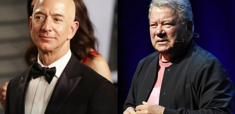 William Shatner to Make History With Space Trip With Jeff Bezos