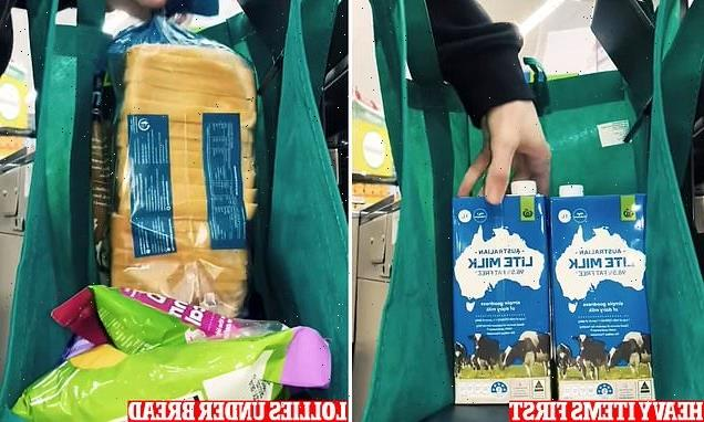 Woolies cashier reveals EXACTLY how to pack grocery bags