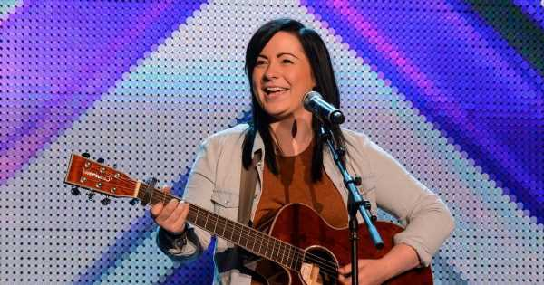 X Factor's Lucy Spraggan shows off taut abs in teeny bra for latest photoshoot
