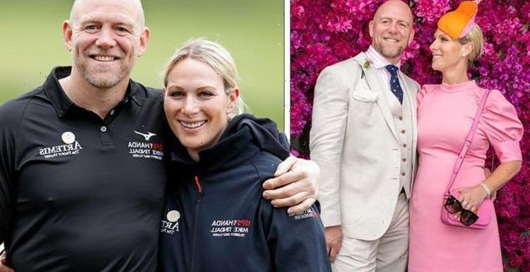 Zara Tindall besotted with Mike as couple dont perform for cameras in rare appearance