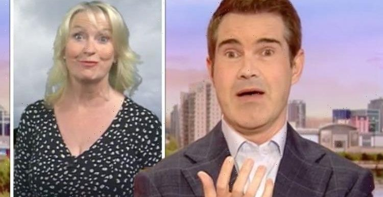 'Don't you dare!' Jimmy Carr issued warning over Carol Kirkwood BBC jibe