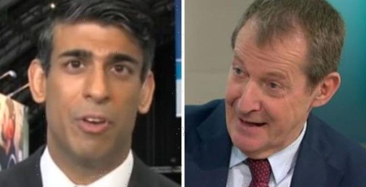 'You're in a parallel universe' Alastair Campbell skewers Sunak over Universal Credit cut