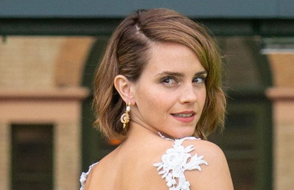 Emma Watson dazzles in backless ensemble at event after ditching fame claims