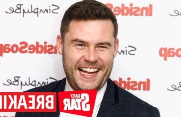 Emmerdale star Danny Miller welcomes first child with fiancée Steph Jones