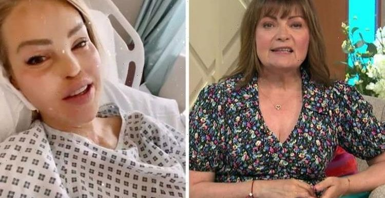 Forget what you have to put with Lorraine Kelly supports Katie Piper amid choking ordeal