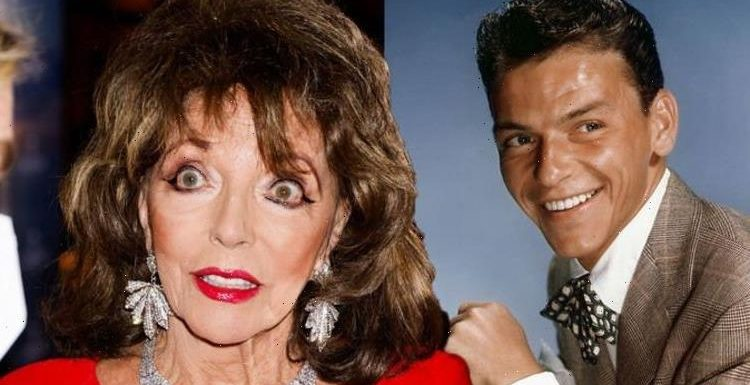 Frank Sinatra slammed by Joan Collins after dinner party meeting Befuddled old man