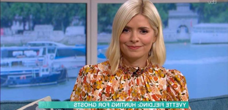 Holly Willoughby terrified as ghost-hunter Yvette Fielding claims This Morning studio is HAUNTED by a spirit