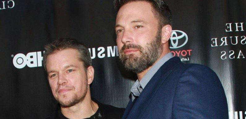Matt Damon and Ben Affleck Spill What Happened to Their Planned Kissing Scene in The Last Duel