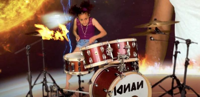 Nandi Bushell Rocks Against Global Warming in 'The Children Will Rise Up' Video