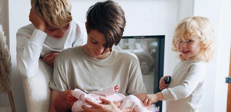 Stacey Solomon's son gushes over his baby sister Rose in adorable new video