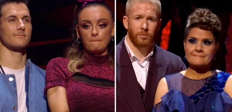 Strictly in 'fix' row as Nina Wadia goes home despite Katie McGlynn's training issues
