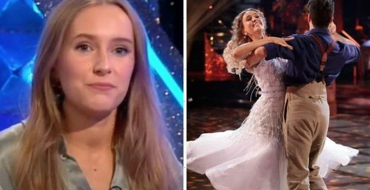 Strictlys Rose Ayling-Ellis fights back tears as she opens up on rewarding experience