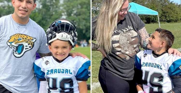 Teen Mom Kailyn Lowry & ex-husband Javi Marroquin reunite for son Lincoln's football game amid nasty feud